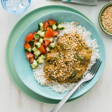 Indian Lamb Curry with Basmati Rice