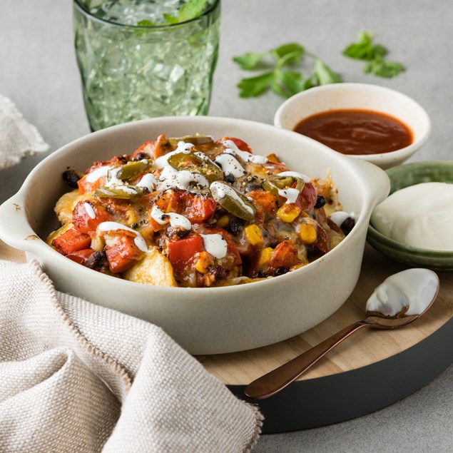 Mexican Loaded Potatoes