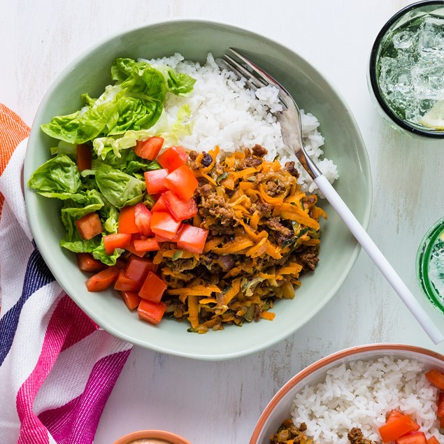Mexican Beef Bowls