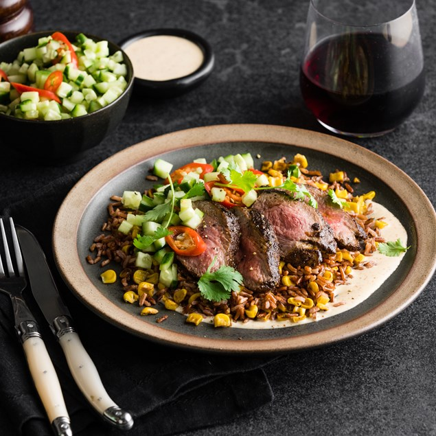 Mexican Coffee Rubbed Beef Eye Fillet