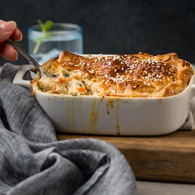 Ready Made Chicken & Veggie Pie