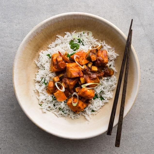Burmese Salmon Curry