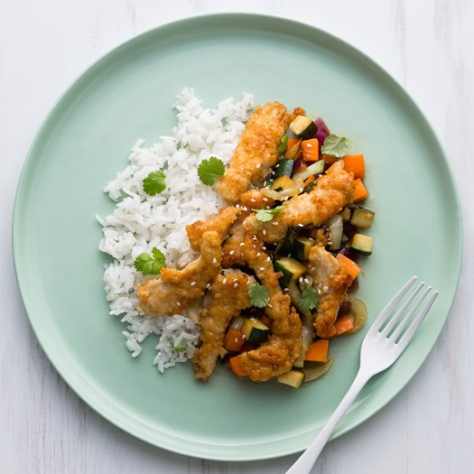 Mandarin Chicken with Jasmine Rice