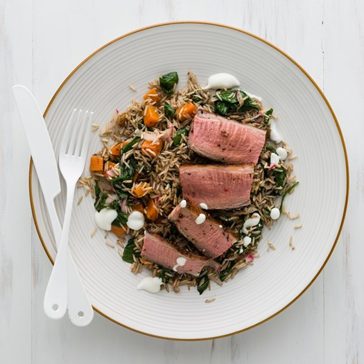 Za'atar Lamb with Jewelled Rice