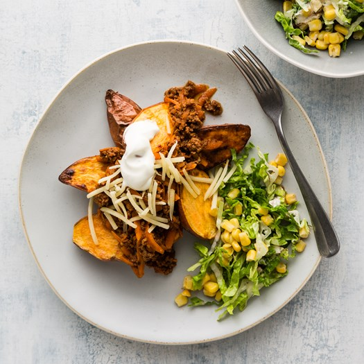 Mexican Beef and Baby Kumara with Chipotle Sauce